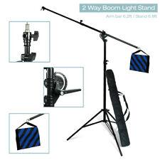 Photo Video Studio Boom Arm Lighting Stand and Sandbag Kit for Softbox Light