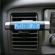 Car electronic clock thermometer two-in-oneK01 new car thermometer with luminous