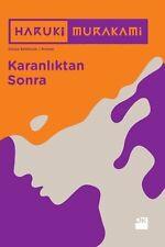 """"""" Haruki Murakami - KARANLIKTAN SONRA """" Turkish Book"""