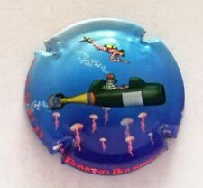 """Capsule de Champagne BOURDELAT  EDMONT """" bouteille sous marin"""" !!!!"""