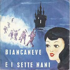 BIANCANEVE E I SETTE NANI # FIABA SONORA - Collana C'ERA UNA VOLTA