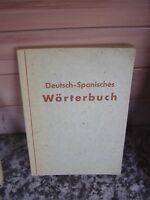 Wörterbuch Deutsch-Spanisch, herausgegeben von B. Berme