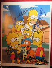 THE SIMPSONS COMPLETE CAST SIGNED PHOTO 8X10