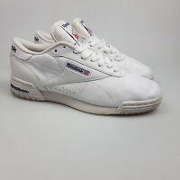 Men's REEBOK 'Exofit LO Clean Logo' Sz 6 US Shoes White ExCon | 3+ Extra 10% Off