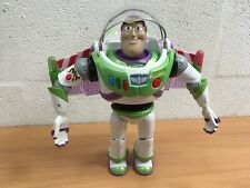 "DISNEY TOY STORY BUZZ LIGHTYEAR 12"" TALKING FIGURE LIGHTS SOUNDS"
