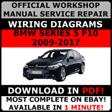 OFFICIAL WORKSHOP Service Repair MANUAL for BMW SERIES 5 F10 2009-2017  #