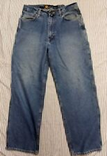 Nautica Jeans Co mens Distressed Jeans 32 30 cotton blue denim waist 34 L 28.5