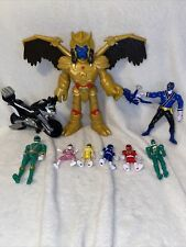 EUC POWER RANGERS Action Figures Toy Mixed Lot Loose Rare HTF Goldar