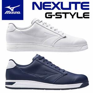 Mizuno Nexlite G-Style Men's Spikeless Waterproof Golf Shoes - NEW! 2021