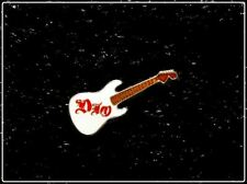 Ronnie James DIO Vintage 80's Enamel Mini Guitar Pin Pinback Badge