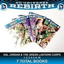 Hal Jordan and Green Lantern Corps 1 - 6 Run Lot 6 Comics Rebirth DC Justice JLA