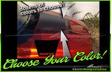 RAM AIR Hood Center Stripes Blackout - FITS 2002 & up Dodge Ram Daytona SRT10