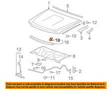 GM OEM Hood-Front Molding Retainer 11561788