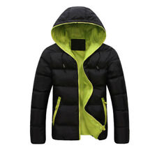 Men's Down Coat Winter Thick Hoodie Outerwear Jacket Hooded Warm Puffer Overcoat