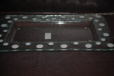 New Lori Siebert for Silvestri Demdaco Glass Fusions Pop-Ins Rectangular Platter