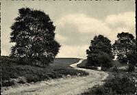 1961 AK Heide Bedarfspost Stempel Egestorf üb. Buchholz Postkarte Ansichtskarte
