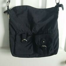 Kim Rogers Black Crossbody Purse Small Messenger Bag Wipe Clean