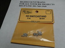 Micro- Engineering 80-301 HO SWITCHSTAND 2 EACH BIGDISCOUNTTRAINS