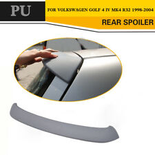 Rear Roof Spoiler Wing Lip Fit for Volkswagen Golf IV MK4 1998-2004 Unpainted PU