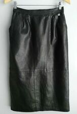 Unbranded Leather Straight, Pencil Skirts for Women