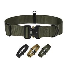 New listing Adjustable Dog Collar with Safety Quick Release Buckle, Breathable.green
