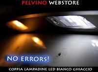 "COPPIA 2 LAMPADINE LED TARGA BIANCO GHIACCIO - ""VOLKSWAGEN TIGUAN"" [2011-2016]"