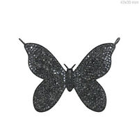 4.41 Ct Real Diamond Pave Butterfly Pendant 925 Sterling Silver Designer Jewelry