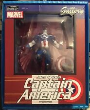MARVEL GALLERY CAPTAIN AMERICA STATUE FIGURE NEW IN BOX UK SELLER