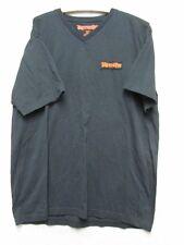 V6556 Jagermeister Black w/Orange Sign V-neck T-shirt Men's XL