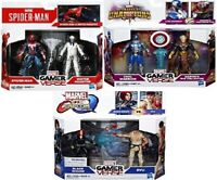 MARVEL GAMERVERSE ACTION FIGURES - CHOICE OF 3 CHARACTERS - NEW BOXED
