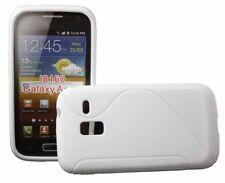 Rubber Case Wave für Samsung i8160 Galaxy Ace 2 II in weiß Silikon Skin Hülle