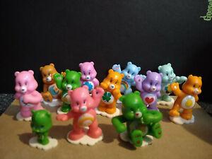 Care Bear Toys 12 Lovely Bears 4-5cm Love Small Statue Figure Weird - 12 Bears