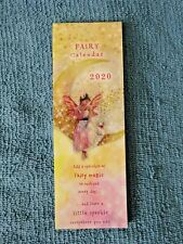 Beautiful Fairy + Quotes Small Bookmark Calendar 2020 Tear-off page each month!