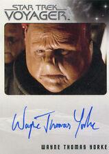 Star Trek Voyager Heroes & Villains Autograph Card Wayne Thomas Yorke as Zet