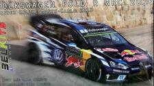 Kit para montar 1/24 Volkswagen Polo R WRC 2016 Rally Montecarlo 2016 Belkits