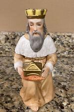 New ListingVintage Homco Kneeling King/ Wiseman Figurine 5599 Replacement Nativity Pieces