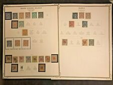 STAMPS FRANCE/GRAND COMORO ISLANDS & MOHELI 1897+ MINT & USED 2pg   # 305