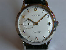 "ZENITH-""ELITE H.W""-CARICA MANUALE-OVERSIZE(37 MM)-ACCIAIO-CALIBRO ELITE 650-RARO"
