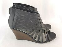 American Eagle Women's Wedge Sandals, Black Size 7