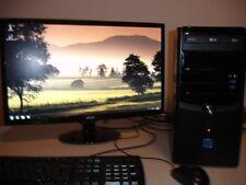 Gamer PC, Intel Core i3-4130 mit 3,4 GHz, neue GeForce 4k, 8 GB RAM, Win 7