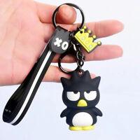 Cute 3D Bad Badtz Maru Keychain Key Chain Charm Car Bag Doll Pendant Keyring