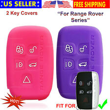 Silicone Case Rubber Protector Holder Fob Cover For Range Land Rover Smart Key