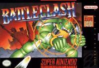 Battle Clash Super Nintendo Game SNES Used