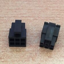2 x  Molex 43025-0600   6 Way Micro-fit  Free Receptacle     2 pieces      Z2126