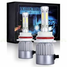 1080W  162000LM COB LED Headlight Kit HB5 9007 Hi/Lo Beams 6000K Bulbs Fast Ship