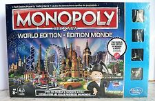 New Monopoly World Edition Here & Now 2015 Sealed Metal Tokens