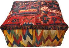 Gabbeh POUF Cuscino Pavimento ottomana POUF 70 x 70 x 30 cm incl. riempimento