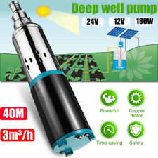 DC 12V 3m³/h Solar Water Pump Screw Submersible Bore Hole Power Deep Well Pump