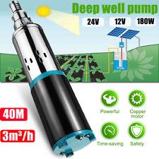 DC 12V 3m³/h Solar Water Pump Screw Submersible Bore Hole Power Deep Well Pump