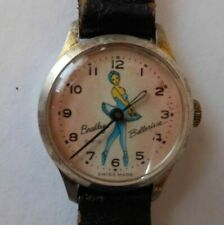 1968 Bradley Ballerina Wind-Up Wrist Watch Swiss Made non working Lot# A8